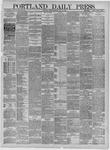 Portland Daily Press: May 11,1885