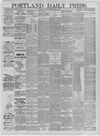 Portland Daily Press: May 12,1885