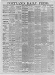 Portland Daily Press: May 13,1885