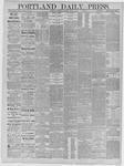 Portland Daily Press: May 14,1885