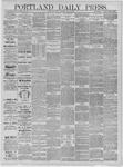 Portland Daily Press: May 15,1885