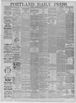 Portland Daily Press: May 16,1885