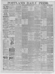 Portland Daily Press: May 18,1885