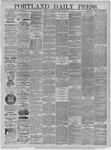 Portland Daily Press: May 19,1885