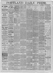 Portland Daily Press: May 20,1885