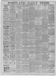 Portland Daily Press: May 21,1885
