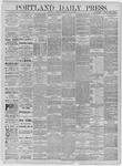 Portland Daily Press: May 23,1885