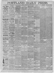 Portland Daily Press: May 25,1885