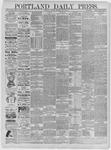 Portland Daily Press: May 26,1885