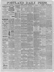 Portland Daily Press: May 27,1885