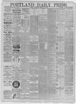Portland Daily Press: May 28,1885