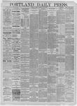 Portland Daily Press: May 29,1885