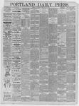 Portland Daily Press: May 30,1885