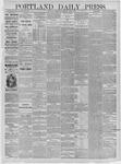 Portland Daily Press: June 03,1885