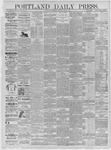 Portland Daily Press: June 04,1885