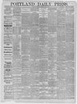 Portland Daily Press: June 06,1885