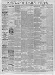 Portland Daily Press: June 08,1885