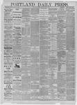 Portland Daily Press: June 09,1885