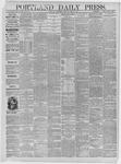Portland Daily Press: June 10,1885