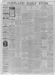Portland Daily Press: June 15,1885