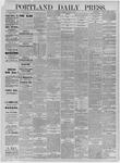 Portland Daily Press: June 17,1885
