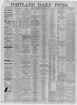 Portland Daily Press: June 18,1885