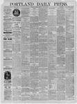 Portland Daily Press: June 19,1885