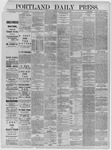 Portland Daily Press: June 20,1885