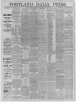 Portland Daily Press: June 22,1885