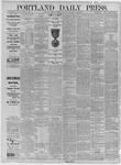 Portland Daily Press: June 23,1885