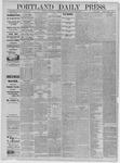 Portland Daily Press: June 24,1885