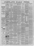 Portland Daily Press: June 27,1885