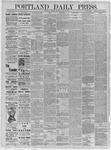 Portland Daily Press: June 29,1885