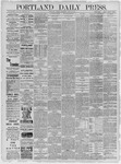 Portland Daily Press: June 30,1885