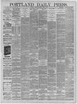 Portland Daily Press: April 03,1885