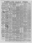 Portland Daily Press: April 04,1885