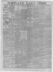 Portland Daily Press: April 06,1885