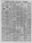 Portland Daily Press: April 07,1885