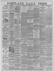 Portland Daily Press: April 08,1885