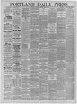 Portland Daily Press: April 09,1885