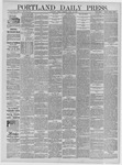 Portland Daily Press: April 10,1885