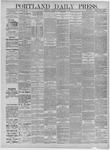 Portland Daily Press: April 11,1885