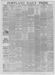 Portland Daily Press: April 14,1885