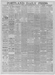 Portland Daily Press: April 16,1885