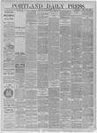 Portland Daily Press: April 17,1885