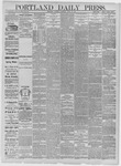 Portland Daily Press: April 18,1885