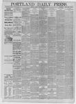 Portland Daily Press: April 21,1885
