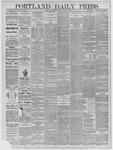 Portland Daily Press: April 25,1885