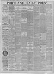 Portland Daily Press: April 27,1885