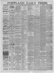 Portland Daily Press: April 29,1885